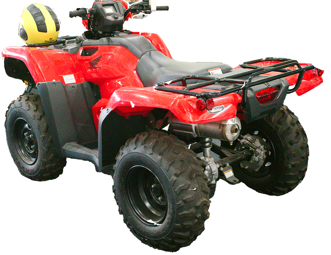 red-quad-bike